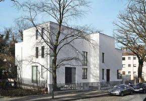 Clarke und Kuhn Doppelhaus Aussenansicht