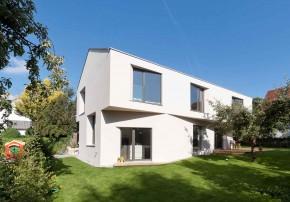Palais Mai Architekten Nachverdichtung Einfamilienhaus Aussenansicht Gartenseite