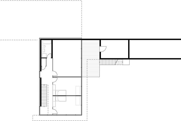 Von Bock Architekten naturverbundenes Wohnen Grundriss Sockelgeschoss