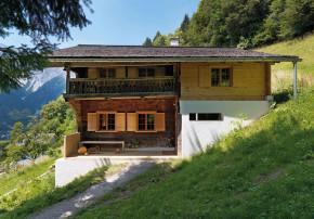 Brugger Architekten modernisiertes Bauernhaus Holzhaus
