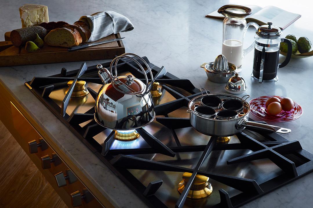 Grand Cuisine Elektrolux Gaskochfeld Mood Detail