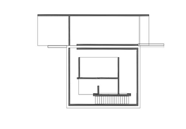Werner Sobek recyclebares Haus Glaspavillon Grundriss UG