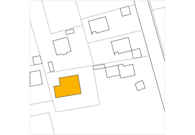 Werner Sobek recyclebares Haus Glaspavillon Lageplan