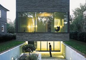 Laket Architekten Split-Level-Haus Aussenansicht