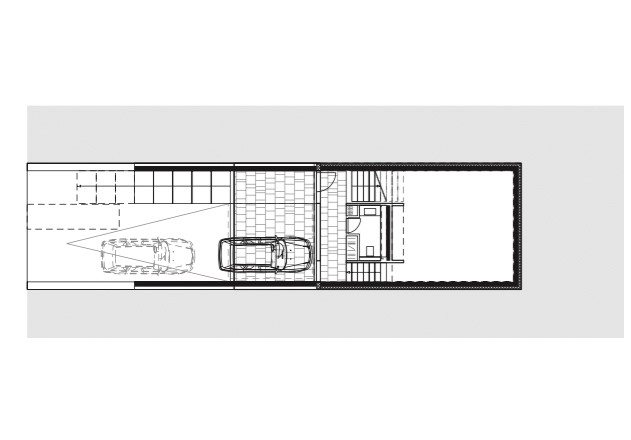 Laket Architekten Split-Level-Haus Grundriss ug