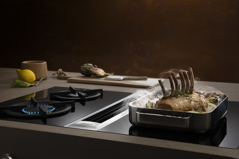 Kochfeldabzug Bora Professional Dunstabzug Grillpfanne