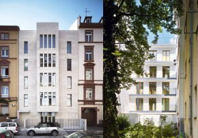 Stadthaus Frankfurt Jo Franzke Generalplaner Strassenansicht