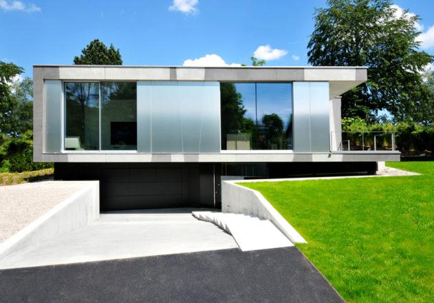 Architekturbüro di Simone Architektin Einfamilienhaus Starnbergersee bauen mit Hanglage