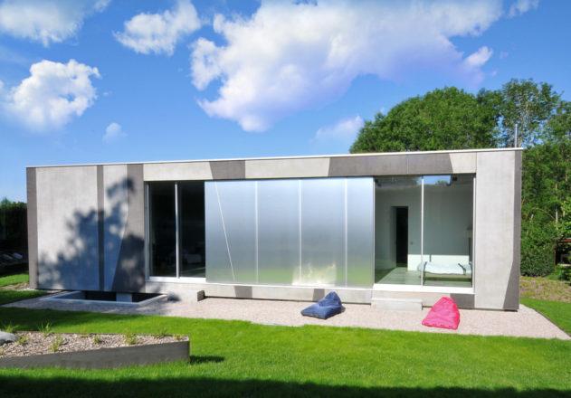 Architekturbüro di Simone Architektin Einfamilienhaus Starnbergersee  Gartenseite