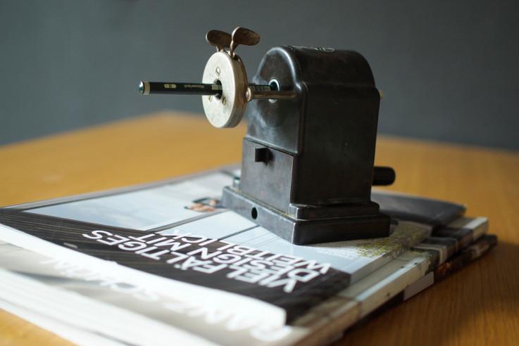Bautagebuch Architektur-Kolumne Handwerker gesucht mit spitzem Bleistift gerechnet