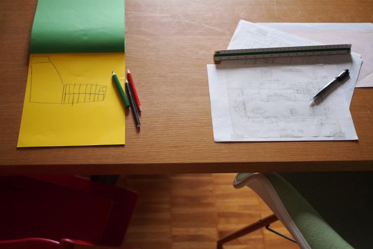Bautagebuch Planabgabe Eigenheim selbst bauen Haus entwerfen