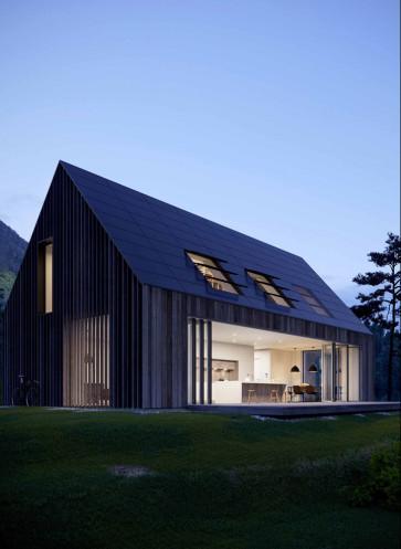 Solarlux Glas-Faltwand energieeffizient bauen