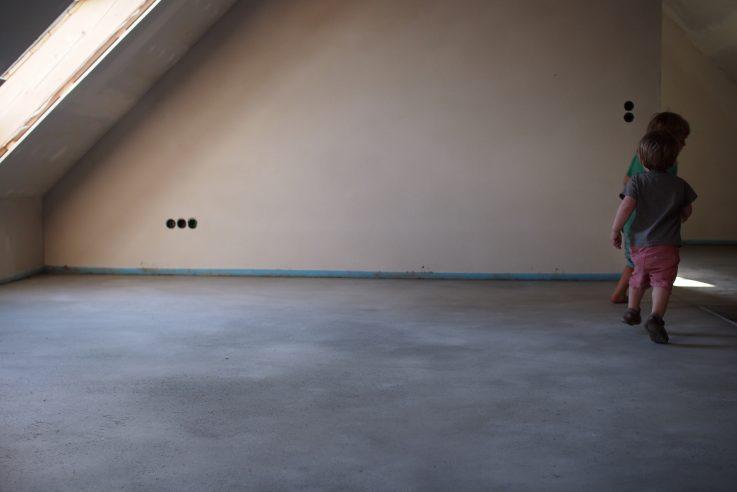 Estrich im Dachgeschoss
