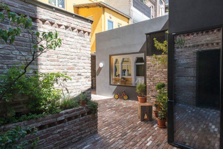 Innenhof-Architektur