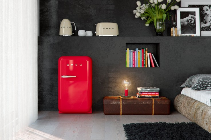 mini k hlschrank von smeg produktl sungen. Black Bedroom Furniture Sets. Home Design Ideas