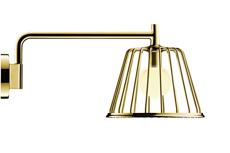 Hansgrohe Axor LampShower Nendo Gold