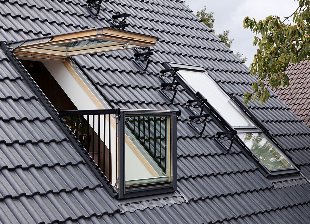 Dachfenster cabrio von velux produkttrends for Velux glass