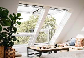 Velux Dachfenster Mini Balkon