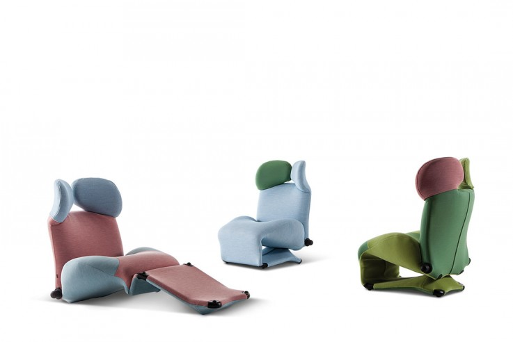Chaiselongue Cassina Polsterfarben