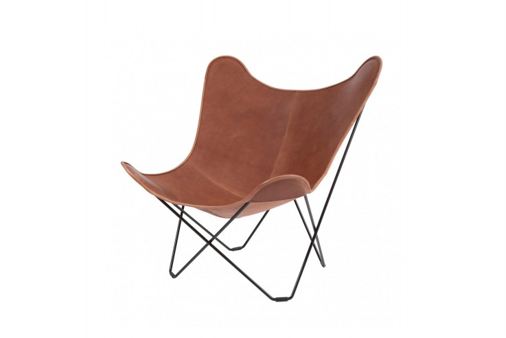 Butterfly Chair Sessel Cuero Re-edition